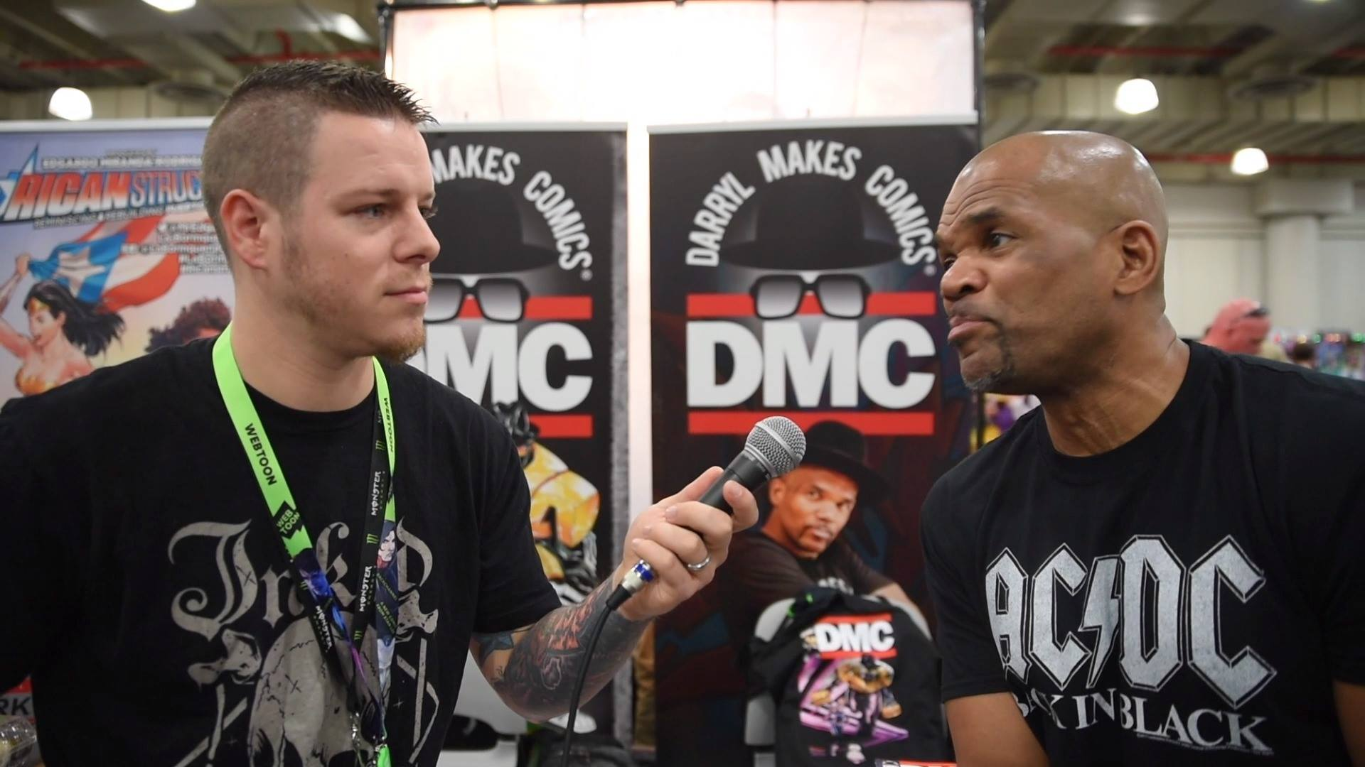 Darryl DMC McDaniels - Interview at NYCC 2018