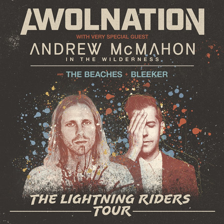 """AWOLNATION RELEASES """"CALIFORNIA HALO BLUE"""" / """"DRIVE"""""""