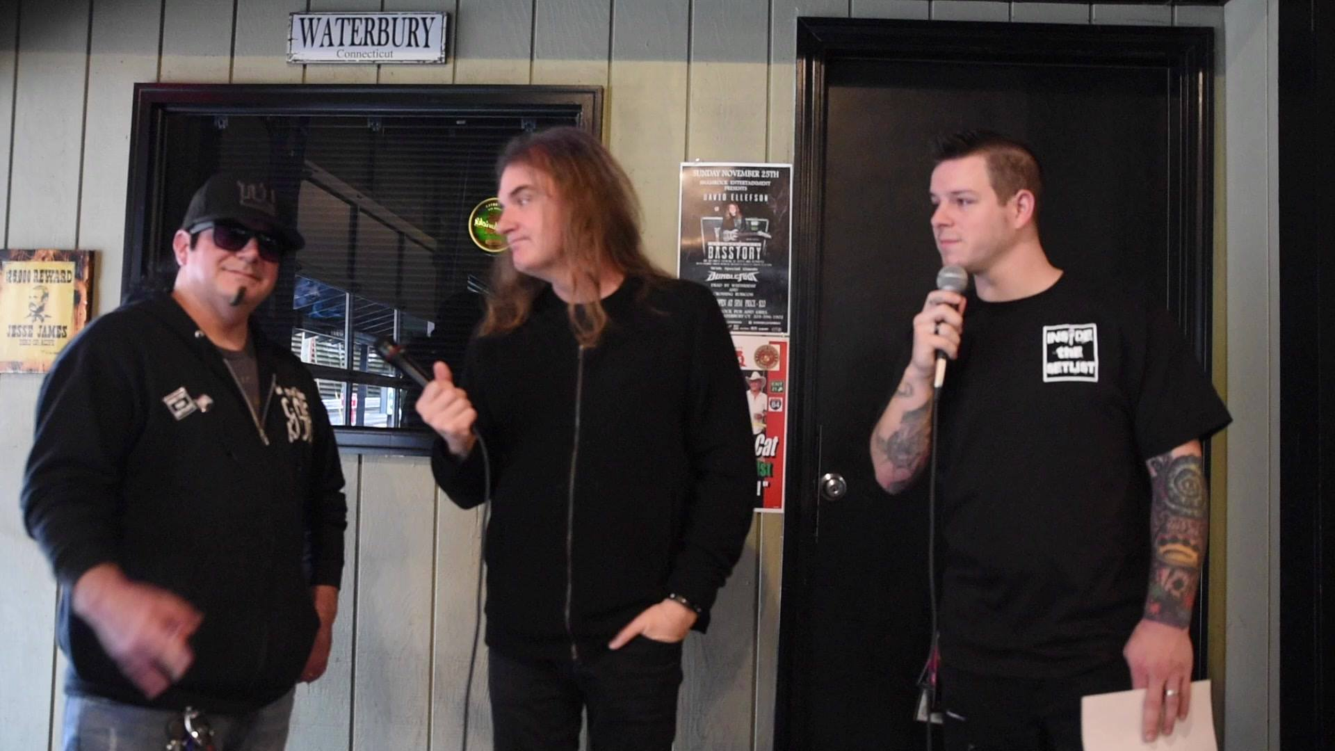 David Ellefson of Megadeth chats with us!