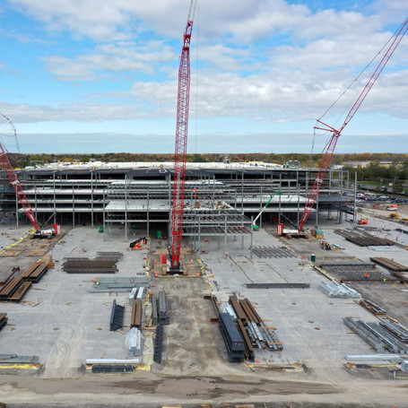 Amazon Warehouse Construction Monitoring for Whiting-Turner Contracting