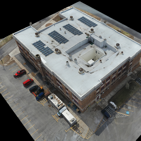 Commerical Roof Reality Capture for King & King Architects
