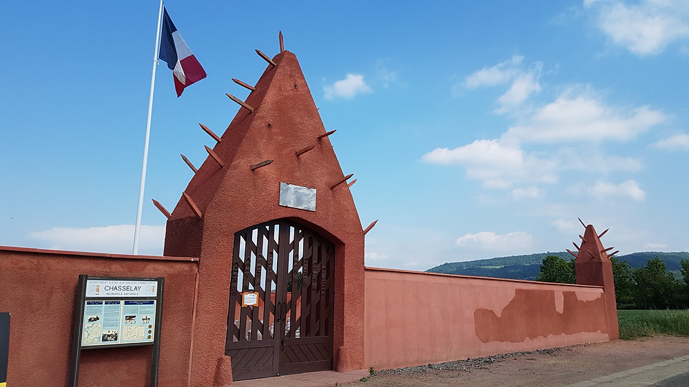 tata sénégalais, nécropole nationale