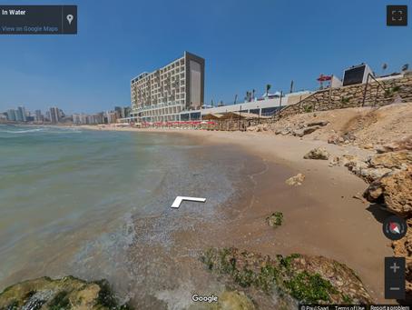 utiliser des photos de google maps  pour faire des images