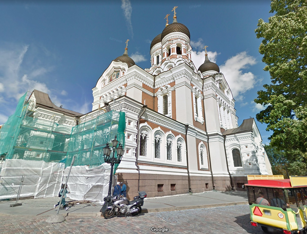 Tallinn google streetview