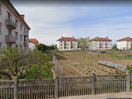 Les jardins de la cité cheminote de Saint-Germain-au-mont-d'or