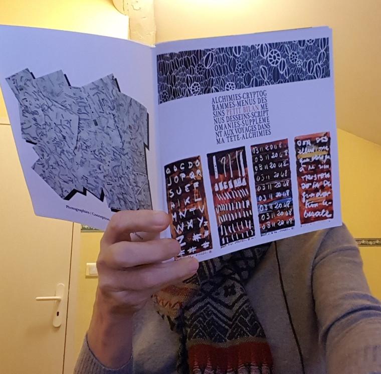 Alchimiies, cryptigrammes, menus dessins, Petit Bilan, menus desseins, scriptomanies, suppléments aux voyages dans ma tête, alchimies