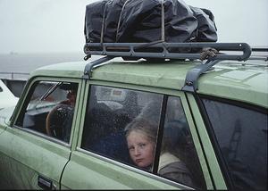 sur le fleuve amour kabharovsk 1991 claudine Doury