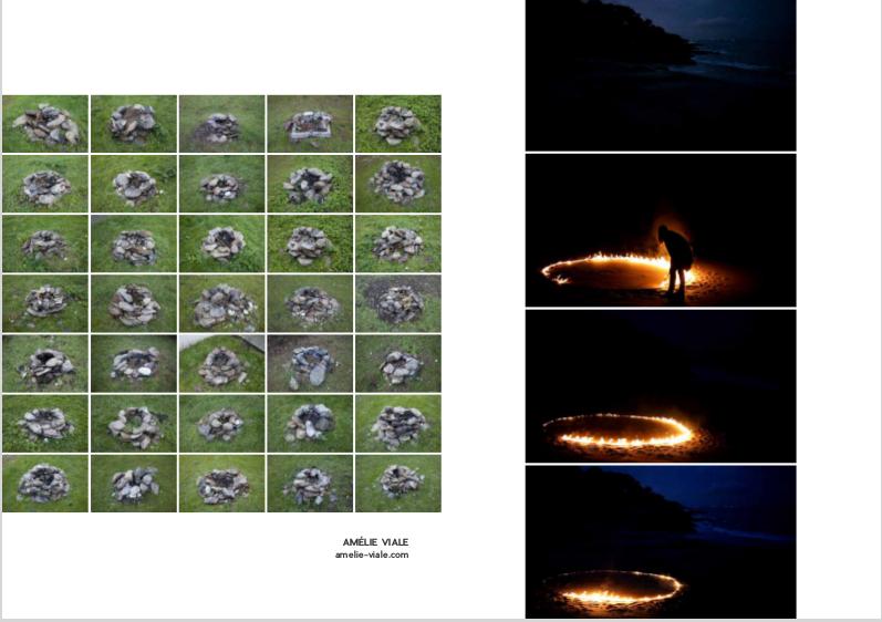 Photos Amélie Viale dans un ouvrage collectif île de Groix