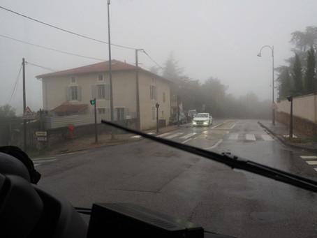 Jour de pluie sur la ligne 21