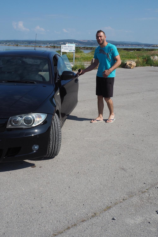 vendeur de BMW