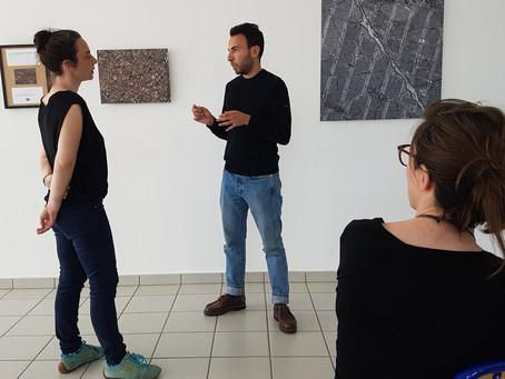 Nabil Tazi, ingénieur et artiste, expose à L'ENS de Lyon 15 parvis Descartes