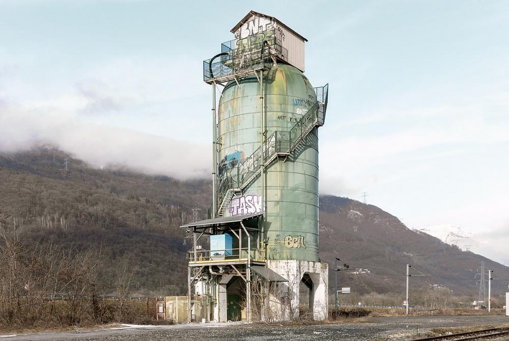 silo de la gare de La Bâthie, Arn, vestige, tarentaise, La Bâthie