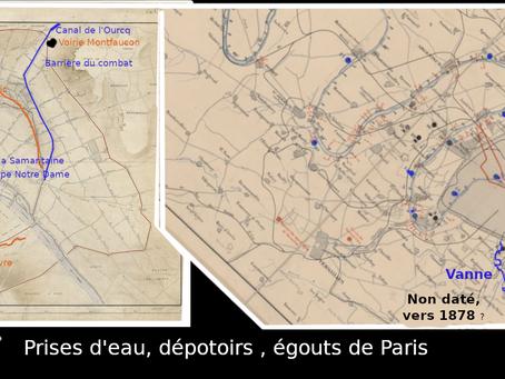 Promenade dans Paris (ses dépotoirs, égouts et prises d'eau)