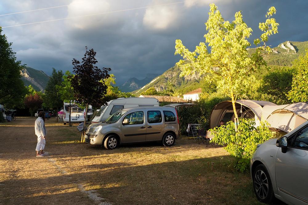 camping Riou Merle, Die