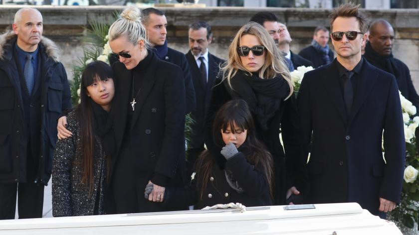 enterrement de Johnny Halliday