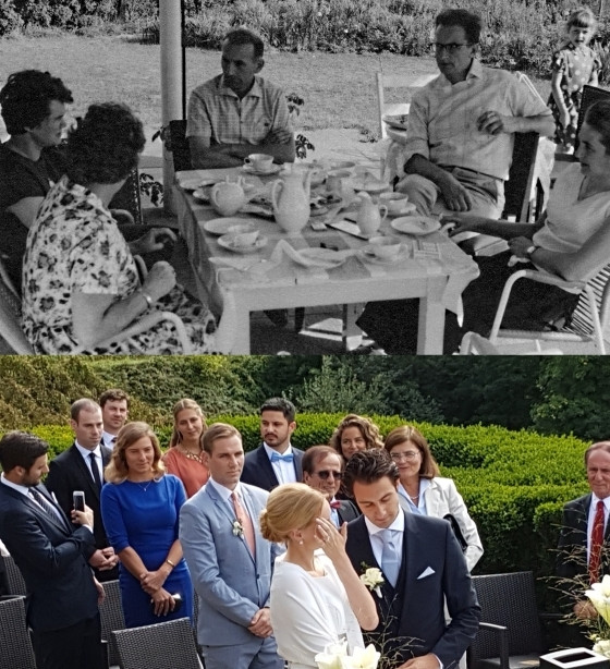 60 ans séparent ces deux photos