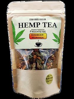 Hemp Tea Erdbeer-Moringa