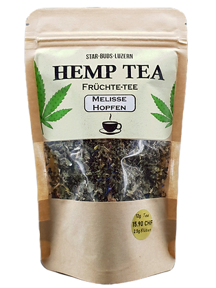 Hemp Tea Melisse & Hopfen
