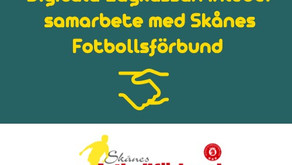 Vi har inlett ett samarbete med Skånes Fotbollsförbund