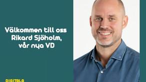 Rikard Sjöholm ny VD för Digitala Lagkassan