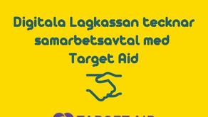 Digitala Lagkassan tecknar samarbetsavtal med Target Aid