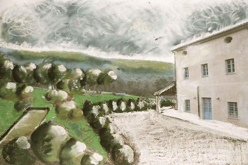 Lot.221 Disegno, progetto e pensiero per un giardino/terrazzo