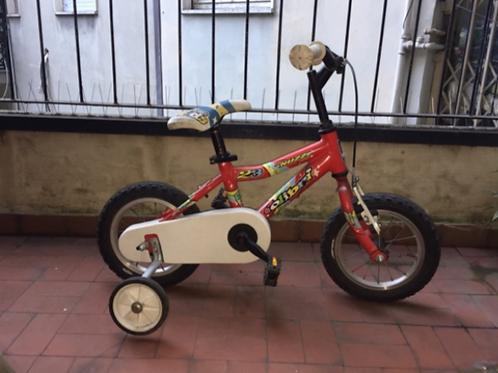 Lot.196 Bicicletta bambino con rotelle