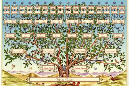 Lot.16 Lettura dell'albero genealogico con l'esperto Fabio Albertini