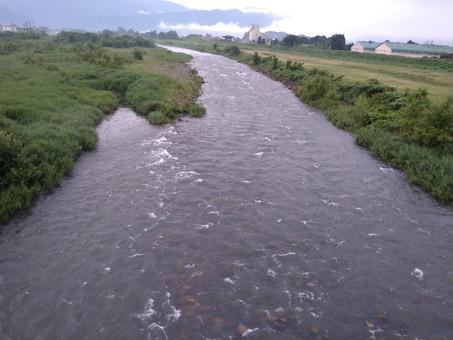 7月12日(月)真名川の状況