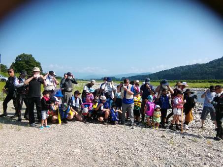 7月31日(土)第二回親子鮎釣り教室