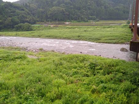 7月11日(日)九頭竜川の状況