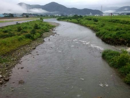 7月19日(金)真名川の状況