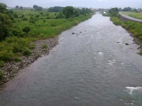 7月2日 真名川の状況