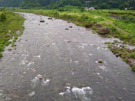 7月12日(月)九頭竜川の状況