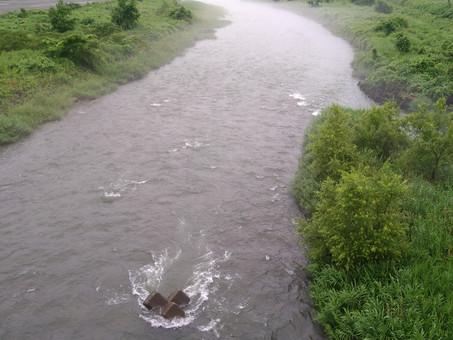 7月11日(日)真名川の状況