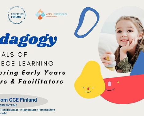 ePedagogy ECE Essentials - Masterclass in Teaching Preschoolers Online