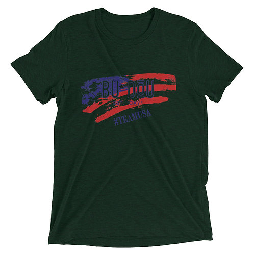 BU DOU USA Short sleeve t-shirt