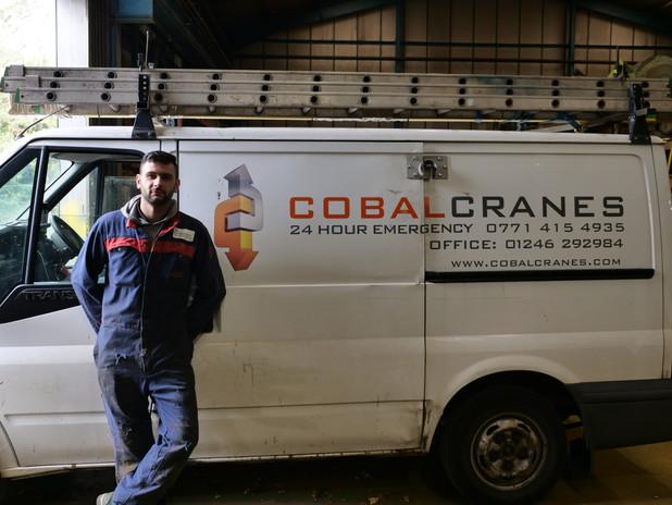 24 hour Breakdown service Cobal Cranes
