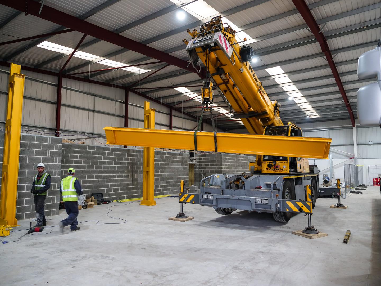 Overhead Crane repair Cobal Cranes