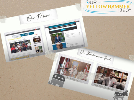 "Our 360 News Announces ""Our Yellowhammer 360"" a series with Yellowhammer News"