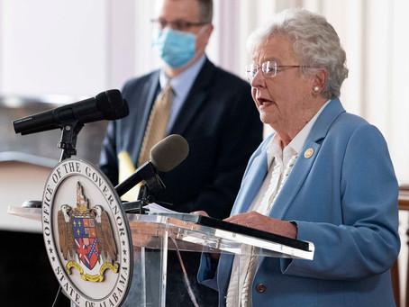 Gov. Ivey extends Alabama's Safer at Home Order as COVID Cases Soar