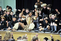 Thandanani Gumede during a Zulu dance workshop