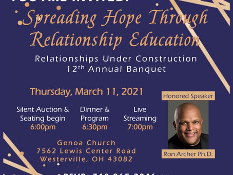 Register Now for the 12th Annual Banquet