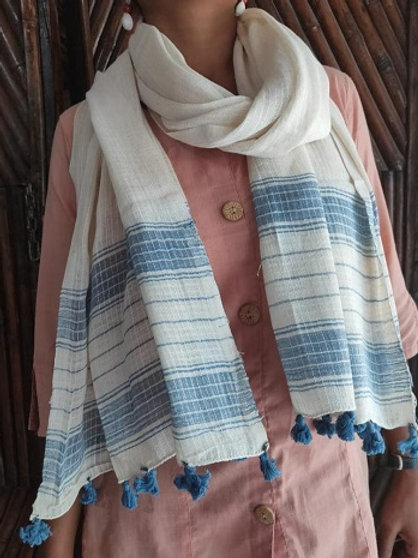 Organic Cotton & Natural Dyes Stole