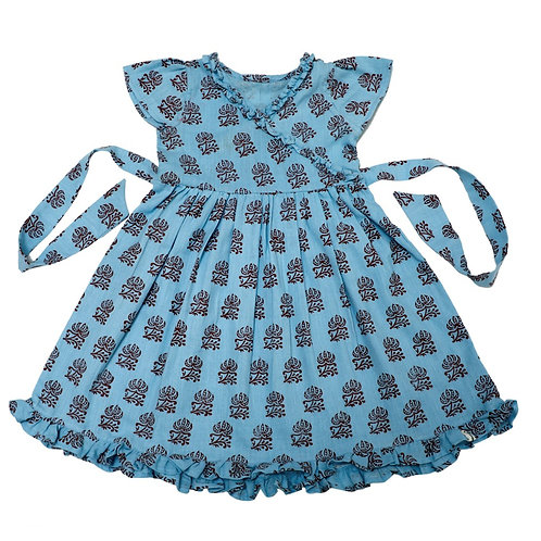 Floral Organic Cotton Pretty Girl Dress