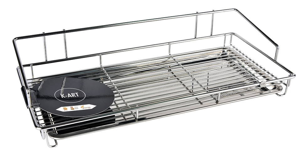 Stainless Steel Drainer Tray Set