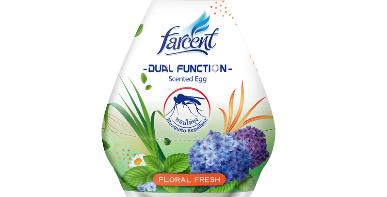 Farcent Dual Function Mosquito Repellent Air Freshener