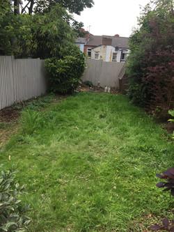 Garden picture 3 before landscape