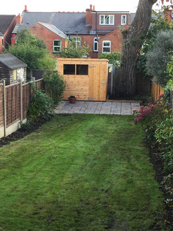 This is the garden finished