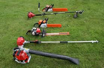 Showing the equipment and services our gardeners provide, we can maintain gardens and give fixed quotes